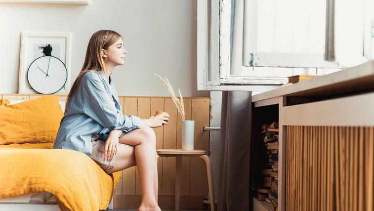 """Pismo žene, ki trpi za anksioznostjo: """"Ko se mi zdi, da je anksioznost zame pretežka, nastopiš ti in ne dovoliš, da bi obupala"""" (foto: profimedia)"""