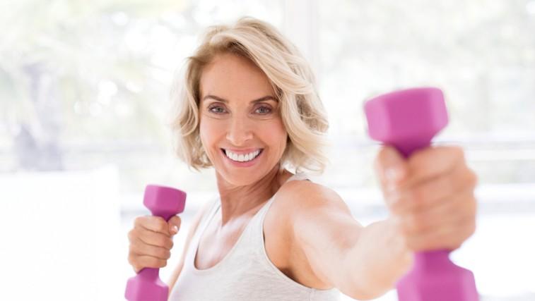 Ste stari 40 ali več? Kako do lepe postave? Zmanjšajte porcije in začnite trenirati (foto: profimedia)