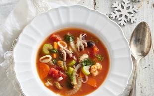 Lahko kosilo: italijanska ribja juha z belim vinom