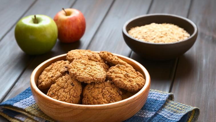 """Recept: zdravi piškoti """"jabolčna pita"""" za zajtrk ali malico (foto: profimedia)"""