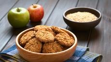 """Recept: zdravi piškoti """"jabolčna pita"""" za zajtrk ali malico"""