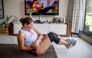 Trening doma: poskrbite, da bo učinkovit! (primeri vaj)