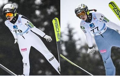 Zgodovinska zmaga! Slovenske smučarske skakalke slavile  v Ljubnem