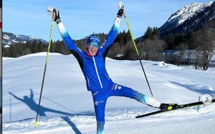 Anamarija Lampič druga v sprintu v zelo mrzlem Falunu
