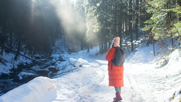 4 razlogi, da se tudi pozimi vsak dan odpravite v naravo (foto: pexels)
