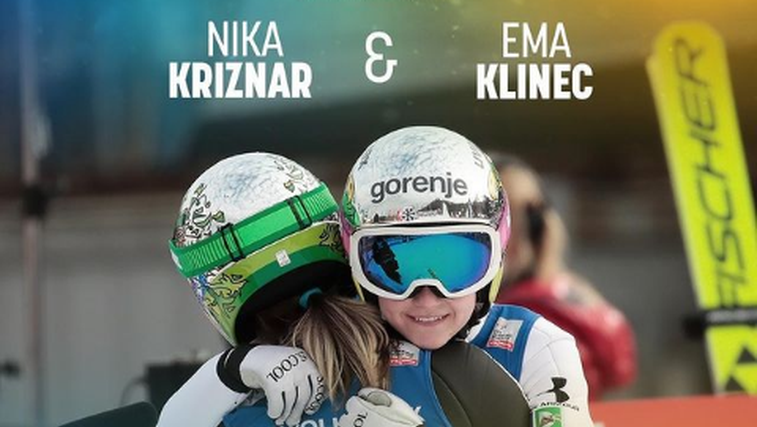 Popoln začetek vikenda! Slovensko slavje v Avstriji, Križnarjeva prva, Klinčeva druga (foto: Instagram FIS)