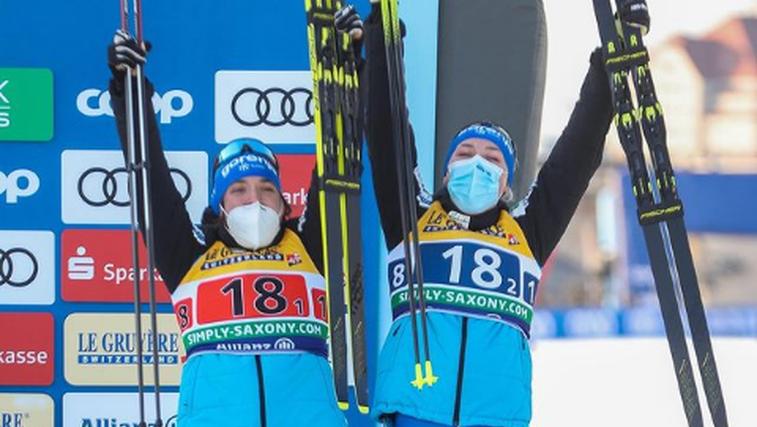 Zmaga! Lampičeva in Urevčeva najboljši na ekipni tekmi na Švedskem (foto: Instagram)