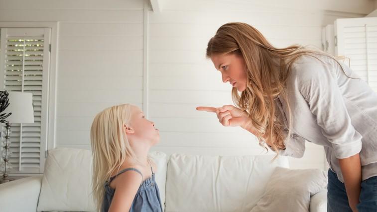 Otrok in neprimerno vedenje: Zakaj ne bi smeli uporabljati groženj v stilu 'če ..., potem ...!' (foto: Profimedia)