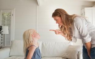 Otrok in neprimerno vedenje: Zakaj ne bi smeli uporabljati groženj v stilu 'če ..., potem ...!'