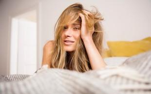 Je pandemija kriva tudi za povečano izpadanje las, s katerim se soočate?
