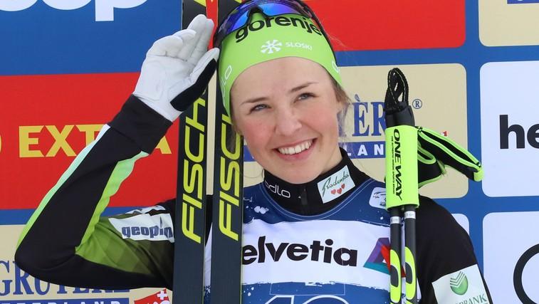 Naj športnica zime: Anamarija Lampič že osvojila mali kristalni sprinterski globus (foto: profimedia)
