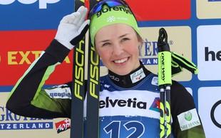 Naj športnica zime: Anamarija Lampič že osvojila mali kristalni sprinterski globus