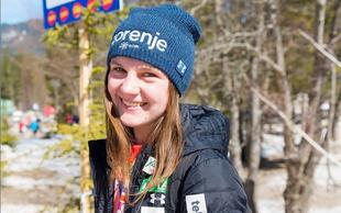 Še zlata medalja za Slovenijo! Ema Klinec - svetovna prvakinja v ženskih smučarskih skokih!