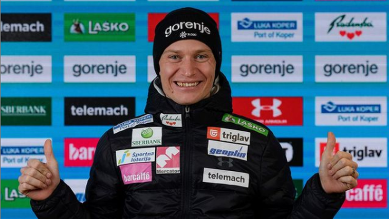Anže Lanišek skočil do bronaste medalje! Že četrta medalja za Slovenijo (foto: Instagram)