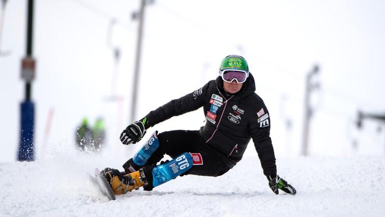 Svetovno prvenstvo v alpskem deskanju na snegu 2021 na Rogli: Navijamo za naše deskarje! (foto: Zavarovalnica Triglav (promocijsko gradivo))