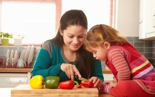 Kako otroka poučiti o uravnoteženi prehrani?