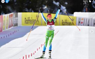 Lena Repinc na mladinskem svetovnem prvenstvu v biatlonu osvojila dve zlati in eno srebrno medaljo. Fak navdušen!