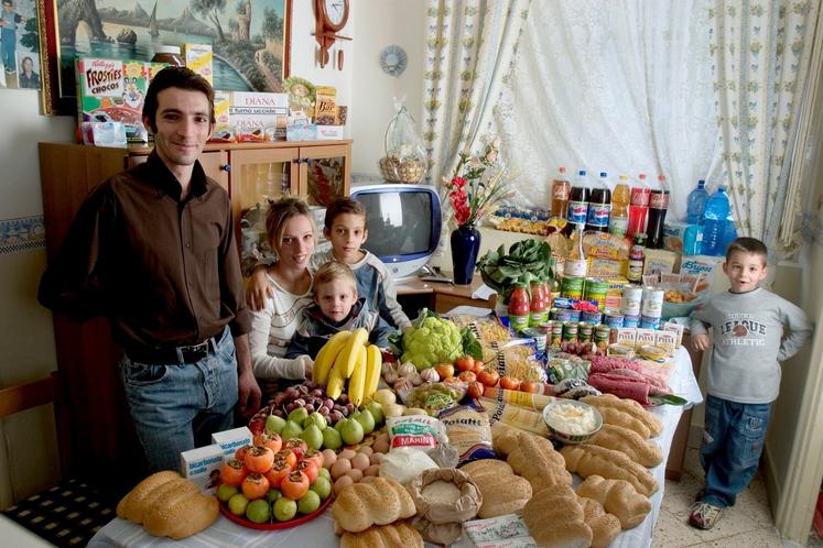 ● OPOMBA: cene so iz knjige Hungry Planet: What the World Eats, ki je izšla leta 2005 oz. povzete iz …
