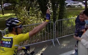 Fantastično! Roglič zmagal že tretjo etapo v dirki Pariz Nica in 50. zmago v karieri