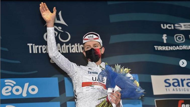 Noro! Zmagal še Tadej Pogačar! Vzel kraljevsko etapo in prevzel skupno vodstvo (foto: Instagram UAE)