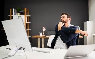 Za te 4 raztezne vaje potrebujete samo pisarniški stol in par minut (+ 2 dodatni vaji za moč)