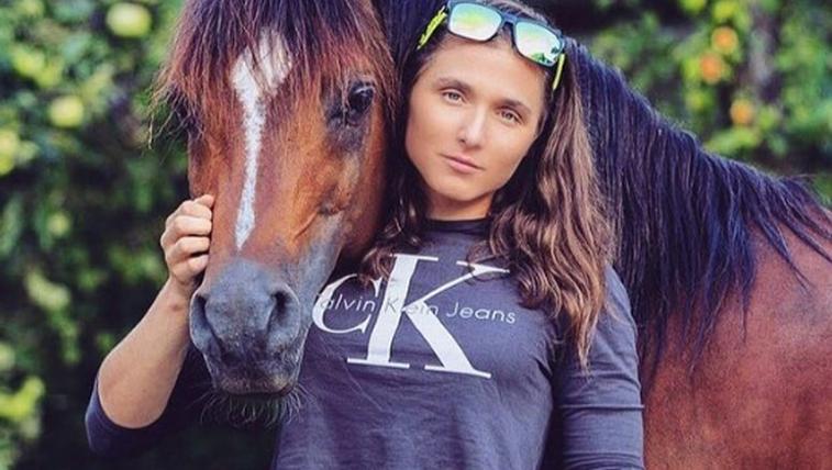 Smučarska tekačica Eva Urevc je velika ljubiteljica živali (foto: Instagram Eva Urevc)