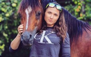 Smučarska tekačica Eva Urevc je velika ljubiteljica živali