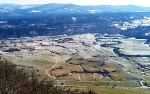 Miren in lep vzpon pri Postojni: Grmada na Planinski gori