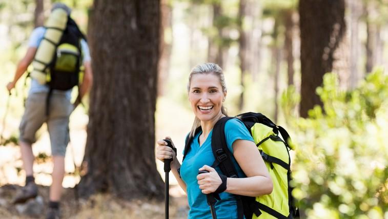 Hoja v hrib izboljša mišični tonus in fizično pripravljenost - kako pravilno hoditi? (foto: profimedia)