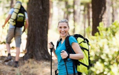 Hoja v hrib izboljša mišični tonus in fizično pripravljenost - kako pravilno hoditi?