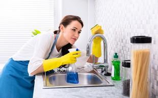 To je 6 najbolj umazanih površin v kuhinji, ki bi jih morali očistiti vsak dan