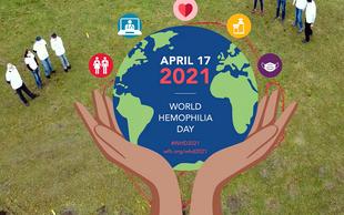 17. april - svetovni dan hemofilije! Danes otroci s hemofilijo živijo aktivna življenja z nekaj manjšimi omejitvami