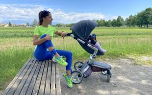 Vadba za novopečene mamice, ki jo lahko opravite med sprehodom z vozičkom (pripravila osebna trenerka)
