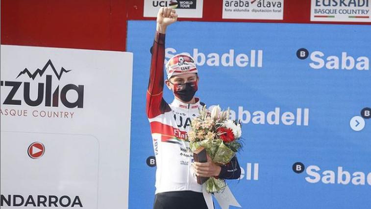 Super zvezdnik Pogačar zmagal enodnevno klasiko Liège−Bastogne−Liège. »Živim kolesarske sanje!« (foto: Instagram UAE)