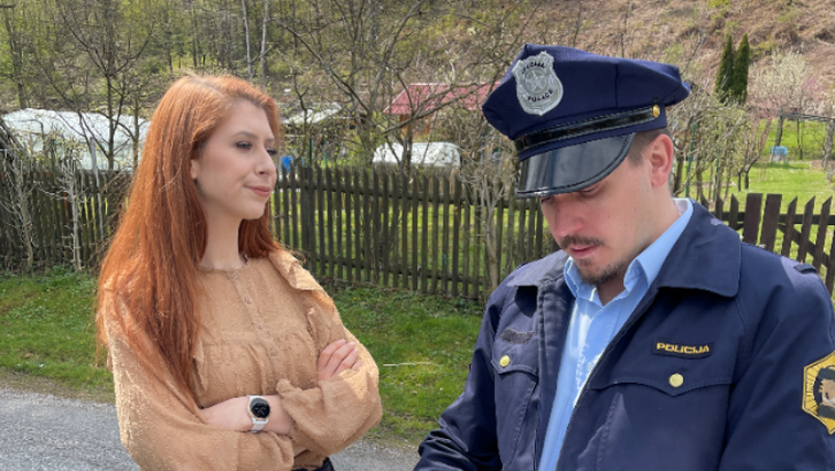 Eva Boto (Hitradio Center) LAGALA policiji?! (foto: Promocijski material)