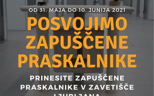Zavetišče Ljubljana posvaja zapuščene mačje praskalnike. Imate kakšnega doma?