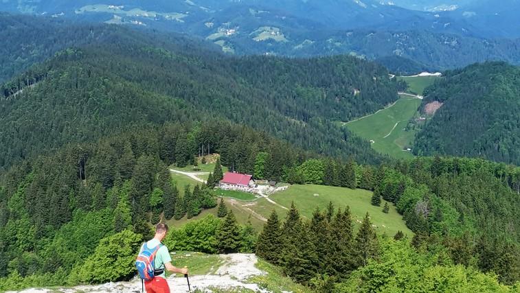 Blegoš - strm, a kratek vzpon na drugi najvišji vrh Škofjeloškega hribovja (foto: DDD)