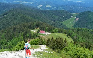 Blegoš - strm, a kratek vzpon na drugi najvišji vrh Škofjeloškega hribovja