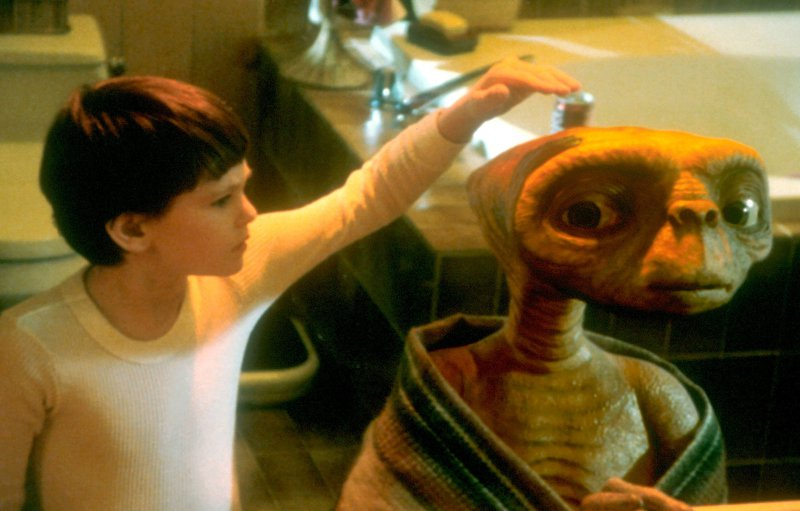 E. T. vesoljček (E.T., The Extra-Terrestrial, 1982)