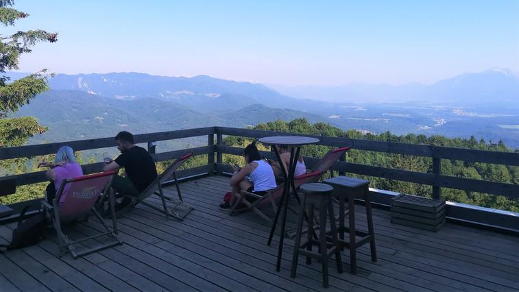 Sveti Jošt nad Kranjem – gorenjska konkurenca Šmarni gori (foto: DDD)
