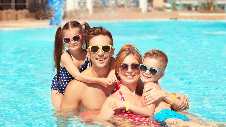 Počitnice: To je lokacija, kjer bo v vodnih vragolijah uživala vsa družina (foto: Shutterstock)