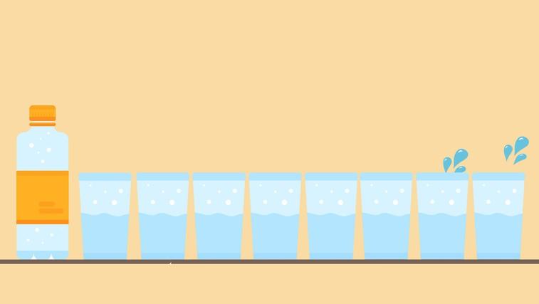 Zakaj NE potrebujete 8 kozarcev vode na dan (foto: Profimedia   Osebni arhiv)
