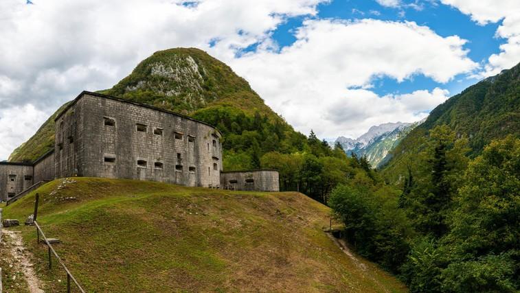 Ideja za izlet: Po krožni poti do mogočne trdnjave Kluže in Fort Hermann (foto: Profimedia)