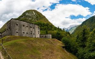 Ideja za izlet: Po krožni poti do mogočne trdnjave Kluže in Fort Hermann