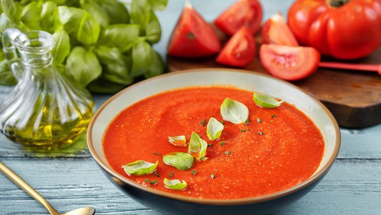 Popolno poletno kosilo: Italijanska paradižnikova juha (foto: profimedia)