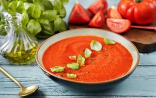 Popolno poletno kosilo: Italijanska paradižnikova juha
