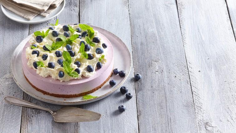 Osvežilna borovničeva chia puding torta brez pečenja (tudi veganska različica!) (foto: profimedia)