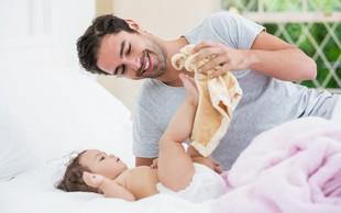 Študija pravi, da je mogoče že pred rojstvom otroka ugotoviti, kako se bo moški izkazal v vlogi očeta
