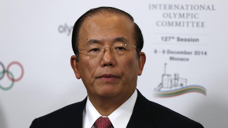 »Zaradi naraščanja okužb je mogoča tudi odpoved olimpijskih iger,« pravi direktor organizacijskega odbora OI Toširo Muto (foto: profimedia)