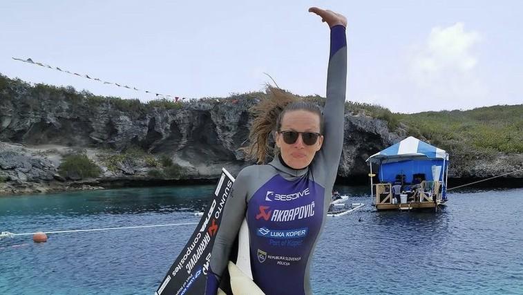 Neverjetno! Alenka Artnik še za dva metra izboljšala svoj svetovni rekord (foto: Instagram)